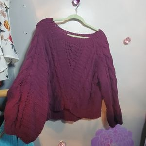 **3/25.  Charlotte Russe sweater
